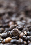 Coffee Beans - Bokeh Royalty Free Stock Image