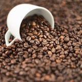 Shallow DOF coffee background Stock Image