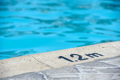 Shallow end of the pool Stock Photography