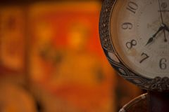 Shallow Focus Photo of Analog Watch royalty free stock image