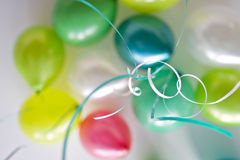 Shallow focus photo of festive balloons Stock Photography