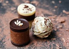 Shallow Focus Photography of Chocolate Tube Royalty Free Stock Images