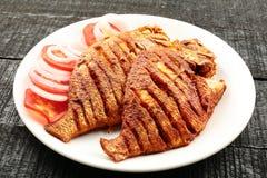 Shallow fry fish, Royalty Free Stock Photo