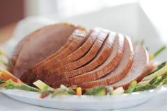 Shallow ham pork Stock Photo