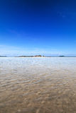 shallow lagoon in the tropics Royalty Free Stock Photography