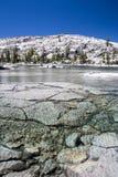 Shallow Mountain Lake in California Wilderness Stock Photos