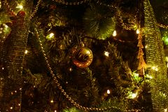 Shallow Photography of Christmas Decor stock photo
