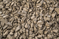 Shallow rocks. With dirt and dust Stock Photography