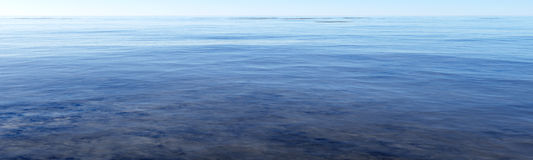 Shallow sea Stock Photography