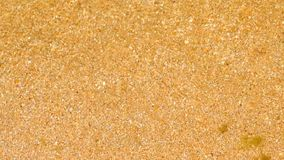 Shallow sea water over sand summer background. stock footage