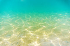 Shallow Seabed Stock Photo