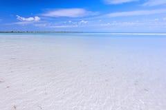 Shallow tropical lagoon stock photos