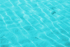 Shallow water turquoise Royalty Free Stock Photography