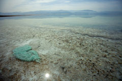 Dead Sea Shallow Waters Royalty Free Stock Photography