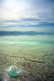 Dead Sea Shallow Waters Stock Photos