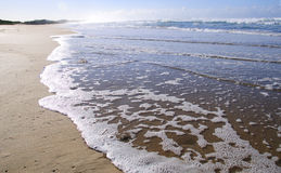 Shallow waves Royalty Free Stock Images