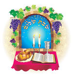 Shalom de Shabat Photo stock