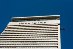 Shalom Meir Tower in Tel Aviv Stock Image