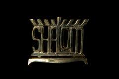 Shalom Menorah Royalty Free Stock Image