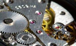 shalow механизма dof часов близкое вверх стоковые фото