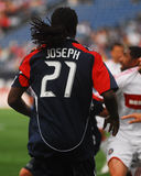 Shalrie Joseph, New England Revolution Royalty Free Stock Photo