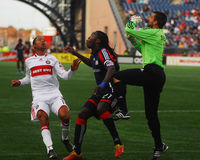 Shalrie Joseph, New England Revolution Royalty Free Stock Images