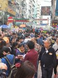 Sham shui po market. In hongkong Royalty Free Stock Images