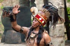 майяский shaman Стоковые Фото