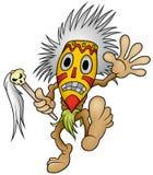 Shaman. Colored Cartoon Illustration, Vector Royalty Free Stock Image