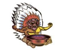 shaman Imágenes de archivo libres de regalías