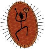 Shaman africano illustrazione vettoriale