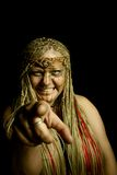 Shaman chooses you! Royalty Free Stock Images