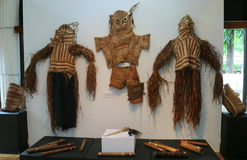 Shaman Clothes of Asmat Tribe Royalty Free Stock Images