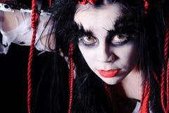 Shaman di voodoo Fotografia Stock