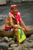 Shaman from the indigenous group of Santo Domingo Stock Images