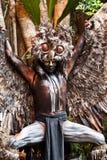 Shaman maia na mostra de Xcaret em México Fotografia de Stock Royalty Free