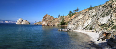 Lake Baikal Panoramic photo Stock Photography