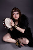 Shaman woman Royalty Free Stock Photo