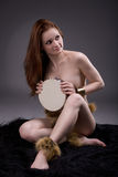 Shaman woman Stock Photo
