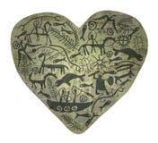Shamanic hjärta Royaltyfri Bild