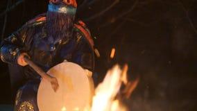 Shamanic seance сток-видео