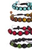 Shamballa bracelet Royalty Free Stock Photos