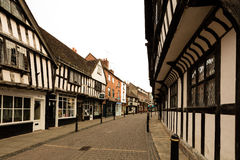 The Shambles in Worcester Royalty Free Stock Image