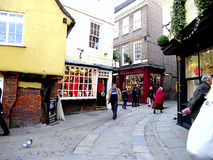 The Shambles, York. The Shambles and Newgate, York Stock Images