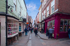 The Shambles in York Stock Photo