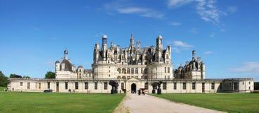 shambord för chateaufrance kunglig person Fotografering för Bildbyråer