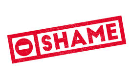 Shame rubber stamp Stock Photo