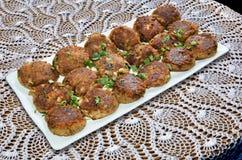 Shami Kebab Στοκ εικόνα με δικαίωμα ελεύθερης χρήσης