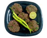 Shami Kebab Made With Beef royaltyfri foto