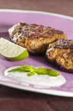Shami kebabs stockfotos